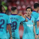 El Barcelona ratificó su liderato en el fútbol español luego de golear por 4-0 de visitante al Mallorca en el regreso de LaLiga. (Foto: EFE)