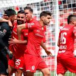 Los Diablos Rojos del Toluca informaron que realizaron 70 pruebas en el club entre jugadores y asistentes, y que los resultados mostraron 7 casos positivos de COVID-19. (Foto: EFE)