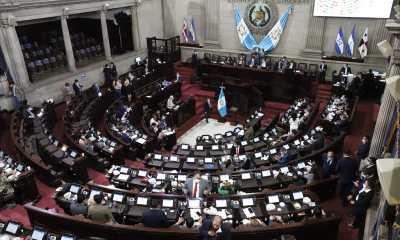 Los diputados aprobaron una prórroga del estado de sitio en dos municipios de Sololá, donde existe un problema entre los pobladores por territorio. (Foto: Congreso de la República)