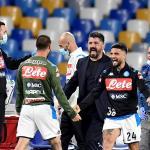 El Nápoli eliminó al Inter de Milán en la semifinal de la Copa de Italia y ahora se deberá enfrentar a la Juventus de Turín en la gran final del día 17. (Foto: EFE)