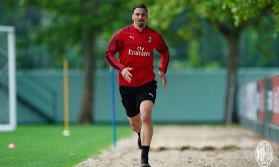 El delantero sueco Zlatan Ibrahimovic superó su lesión y podría volver a la actividad este miércoles con el AC Milan frente al Spal. (Foto: Sempremilan.com)