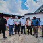 El Presidente Alejandro Giammattei ofreció en su visita a Alta Verapaz que pavimentará la carretera hasta Semuc, Champey. (Foto: Gobernación Departamental)