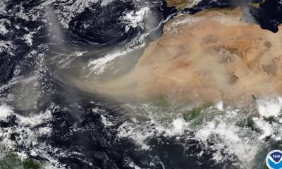 Polvo del Sahara