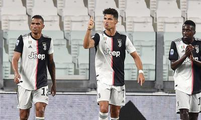 Cristiano Ronaldo se colocó a un gol de alcanzar a Ciro Immobile por el liderato de goleo de la Serie A de Italia. (Foto: EFE)