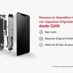 Huawei pantalla