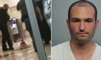 El hombre fue arrestado por la policía luego de disparar dentro del hotel para exigir distancia social. Luego fue puesto en libertad tras pagar una fianza de US$11 mil. (Foto: Twitter)