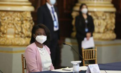 Silvana Martínez, Ministra de Cultura y Deportes, confirmó que fue diagnósticada con COVID-19. (Foto: Twitter )