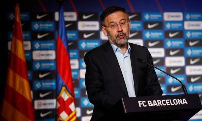 José María Bartomeu estaría dispuesto a renunciar para que Messi se quede, sin embargo, la decisión del argentino parece irrevocable. (Foto: EFE)