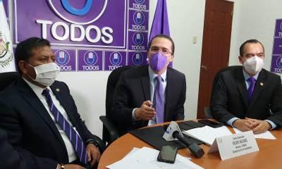 Los diputados de la Bancada Todos anunciaron que no aprobarán el presupuesto 2021. (Foto: Twitter)