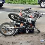 Los accidentes de motorisas han aumentado en los ultimos meses en Suchitepéquez, debido al exceso de velocidad e imprudencia de sus pilotos. (Foto: Cristian Soto)