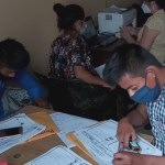 La Oficina Municipal de Alfabetización, CONALFA, en Cobán, Alta Verapaz, concluyó en septiembre sus labores, las cuales relizó durante la pandemia bajo las estrictas medidas sanitarias. (Foto: Eduardo Sam)