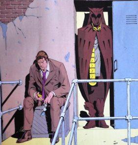 Vivir a la sombra de un traje.