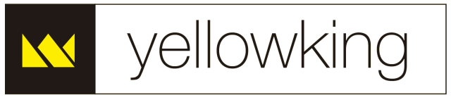 Logo YellowKing blanco