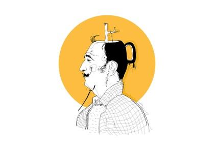 3 - Salvador Dalí