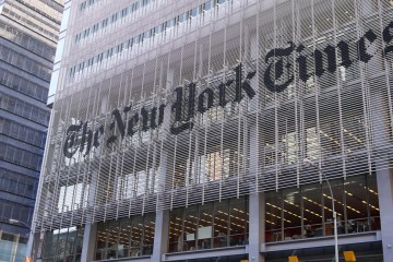 Photo of TImes building in NY