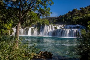 Powerful Krka River