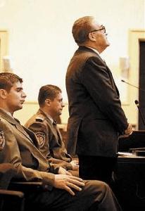 Dinko Šakić na suđenju
