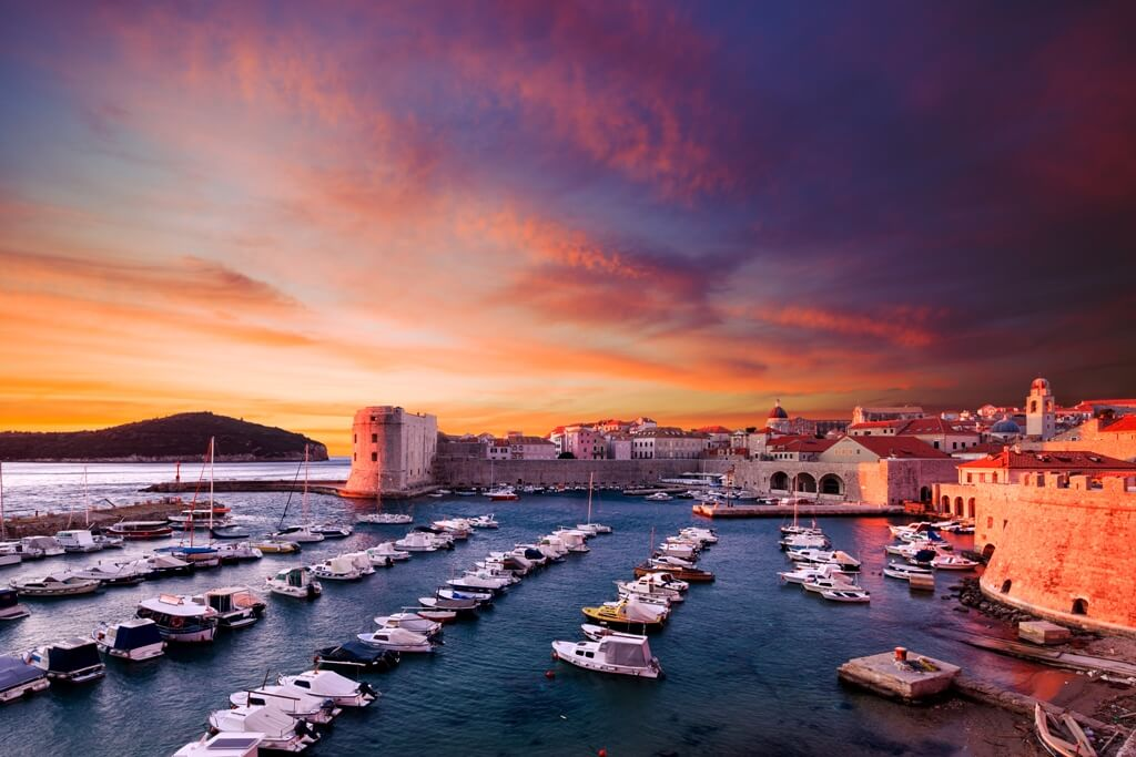 Dubrovnik, Tour of Croatia