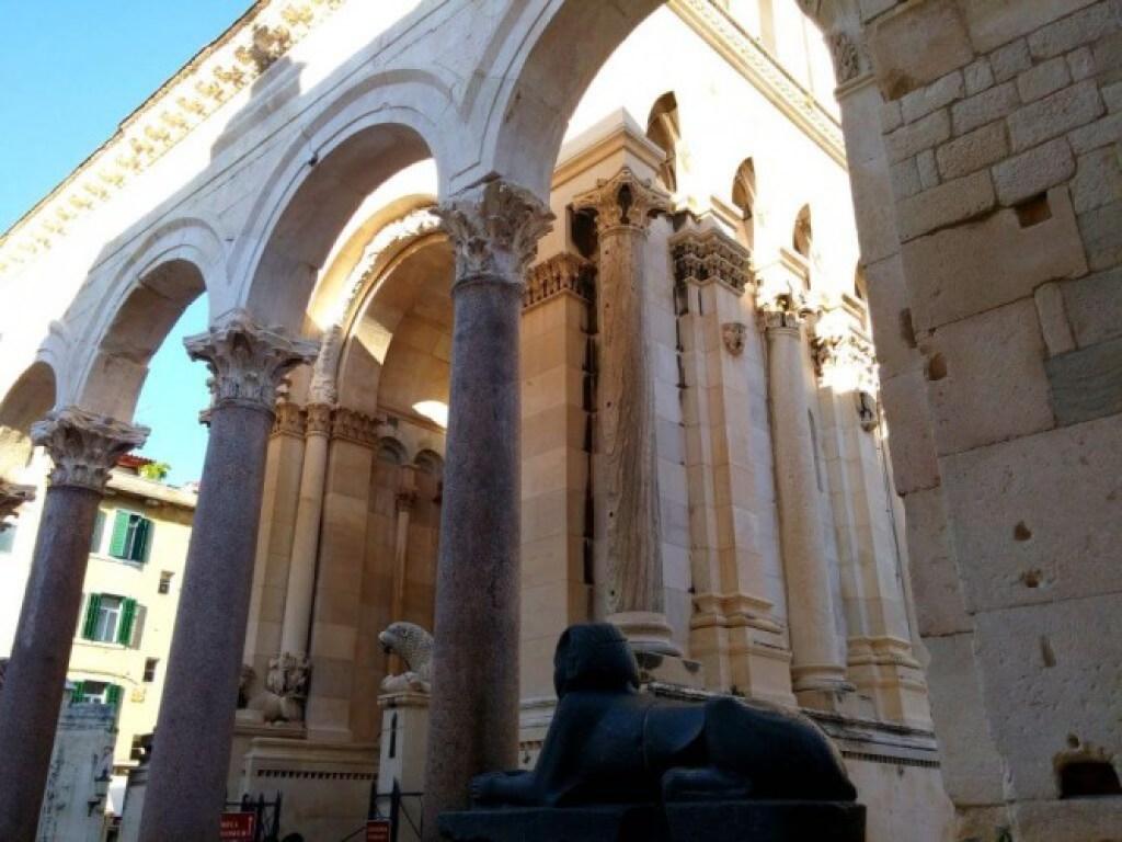 Black Sphinx in Split
