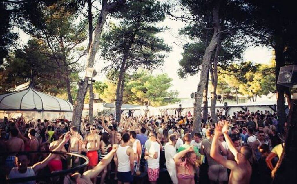 Blue Beach, Croatia Beach Party