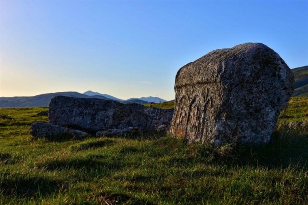Tombstones in Tomislavgrad