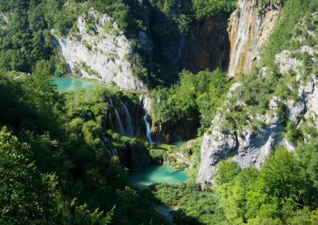 Plitvice Lakes and Waterfall
