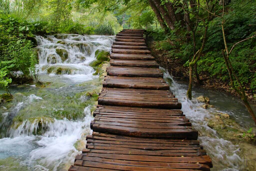 Plitvice Lakes, Wooden Trails