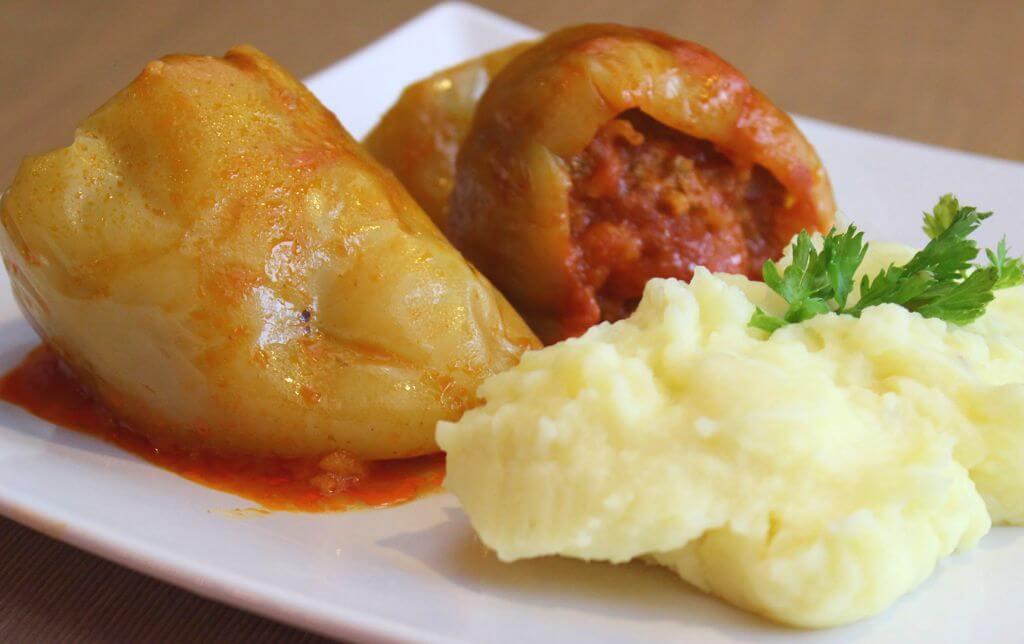 Punjene Paprike, Croatian Food