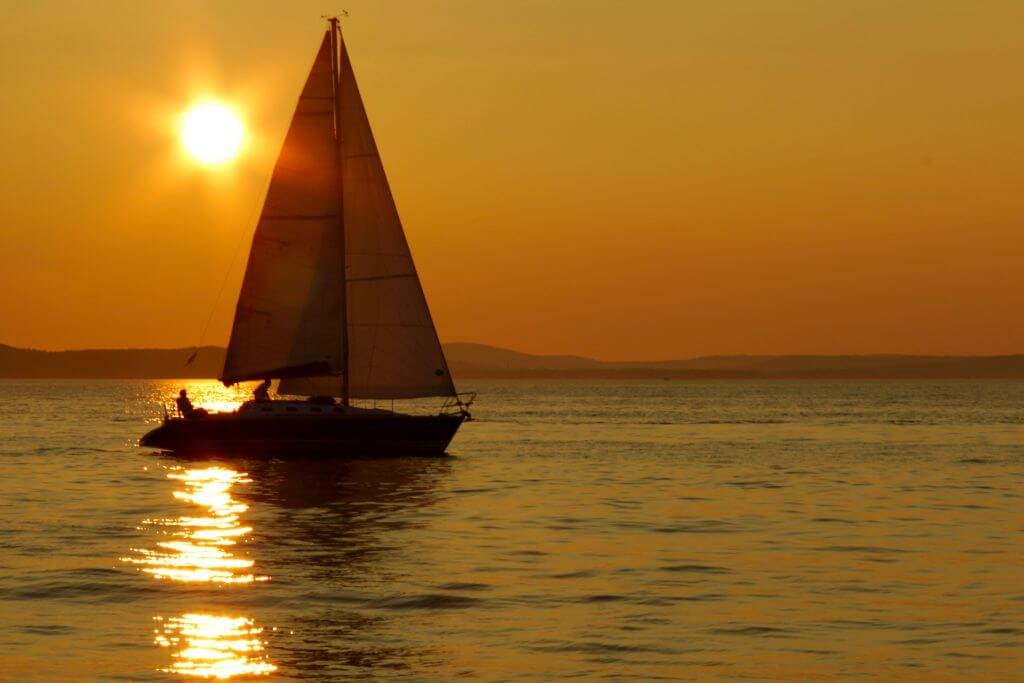 Sailing Boat, Autumn Holidays