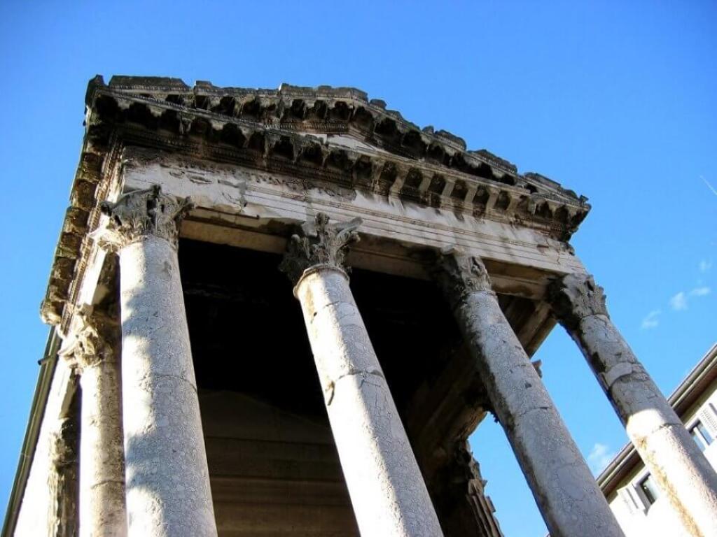 Augustan Forum, Pula