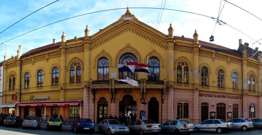 Theatre, Osijek