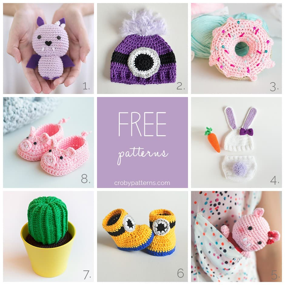 Free Crochet Patterns by Croby Patterns