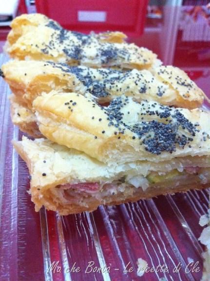 Rustico pancetta e zucchine