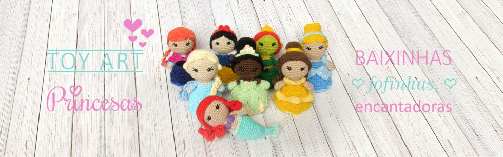 Toy Art Amigurumi Princesas