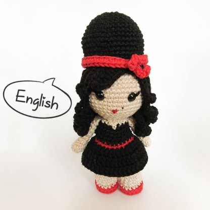 Toy Art Amy Winehouse Amigurumi