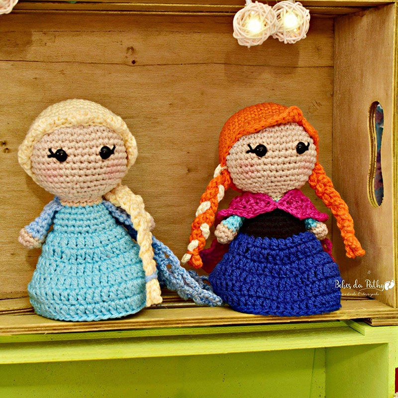 Elsa e Anna by Joyce Gomes