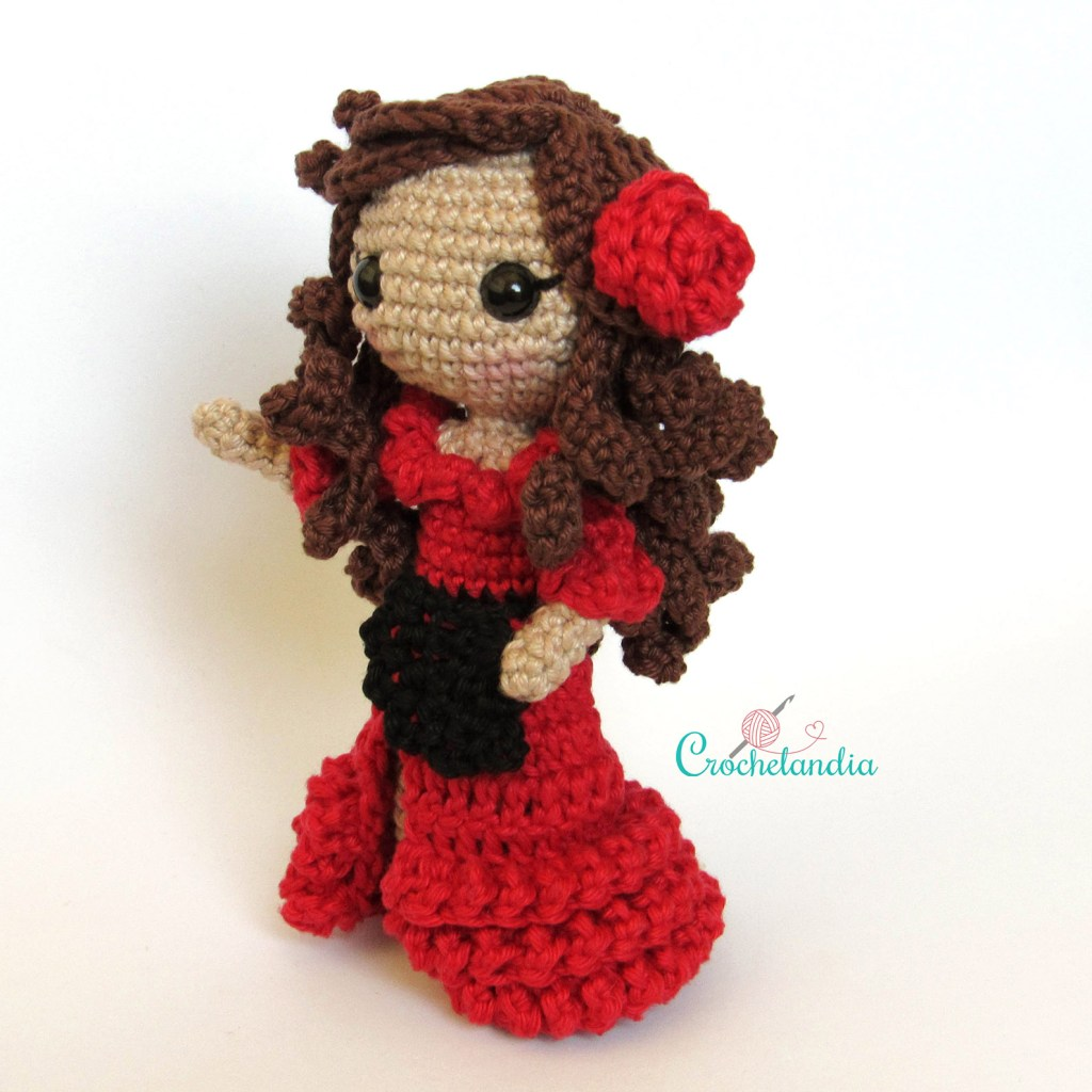 Toy Art Amigurumi Carmen - By Crochelandia