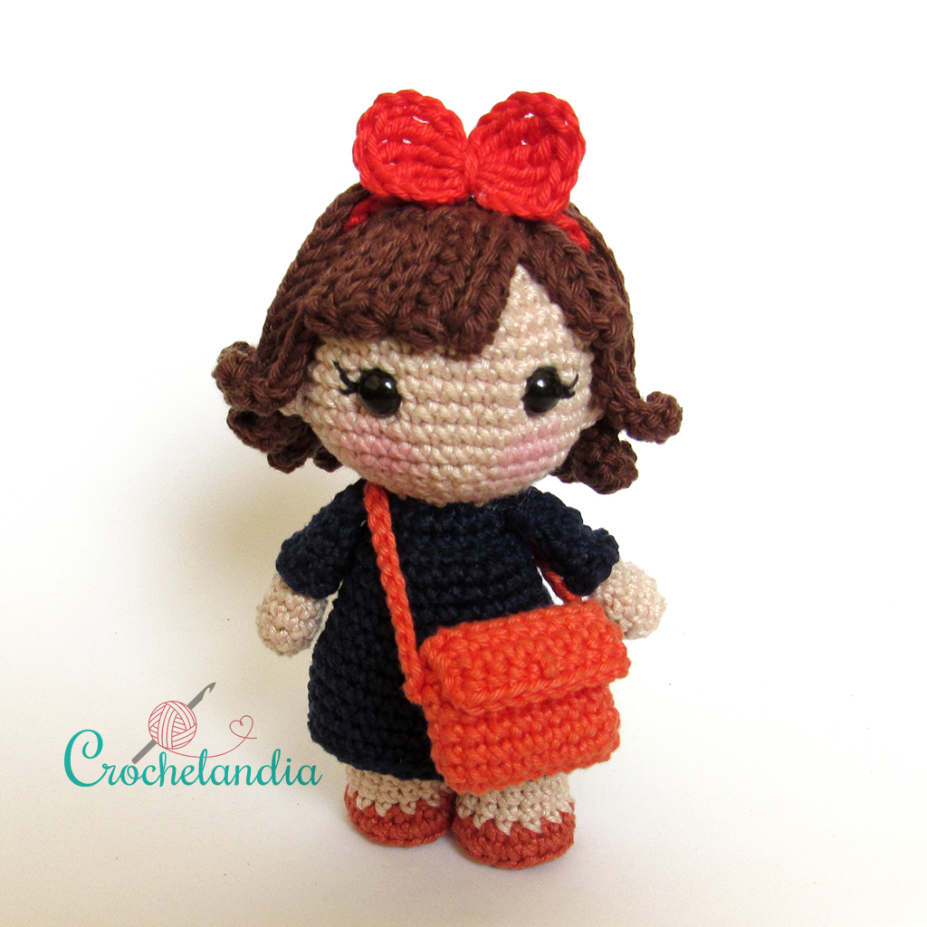Toy Art Amigurumi Kiki & Jiji - by Crochelandia