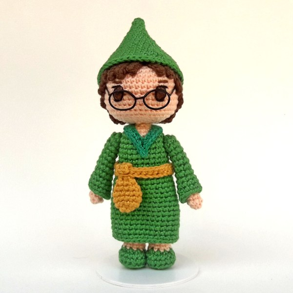 Presto CD Toy Art amigurumi - By Adriana Gori