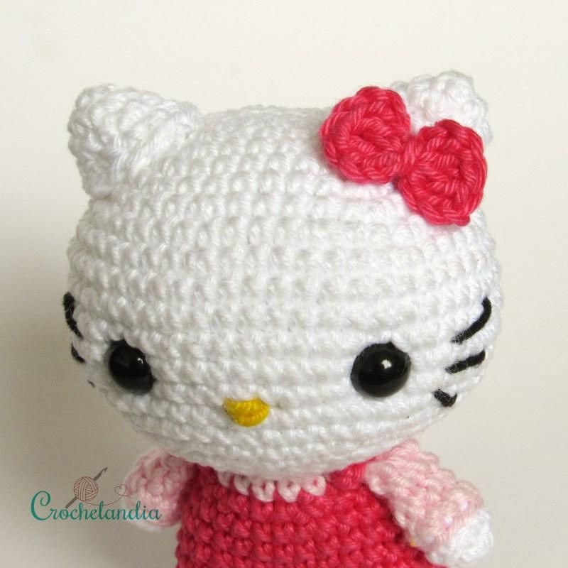 Hello Kitty Amigurumi - by Crochelandia