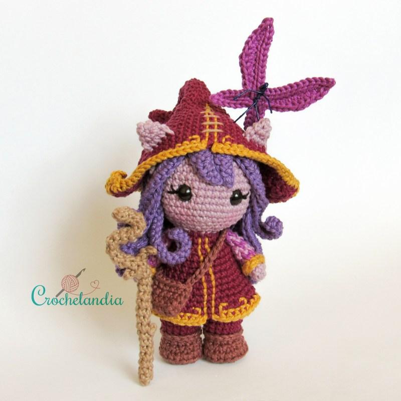 Toy Art Amigurumi Lulu - by Crochelandia