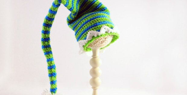 elf hat crochet pattern
