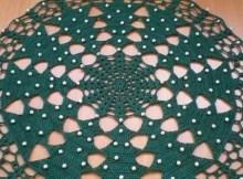 Christmas doilies crochet pattern