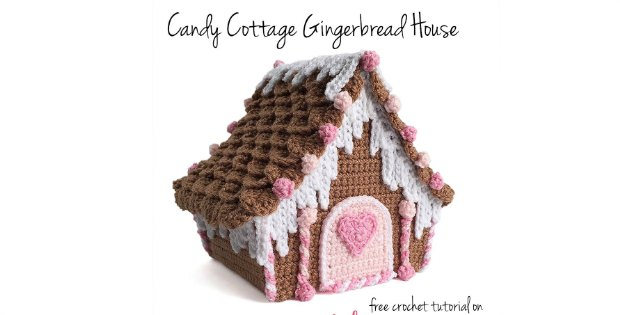 Crochet Gingerbread House Delicious Pattern