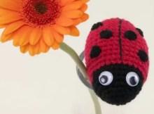 Crochet Ladybird Is A Super Cute Amigurumi Pattern