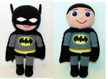 batman amigurumi crochet