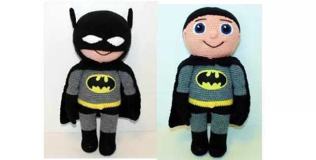 batman amigurumi crochet
