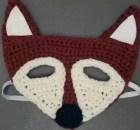 crochet mask fox pattern