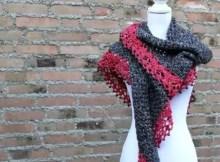 Touch Of Velvet Wrap Crochet Pattern