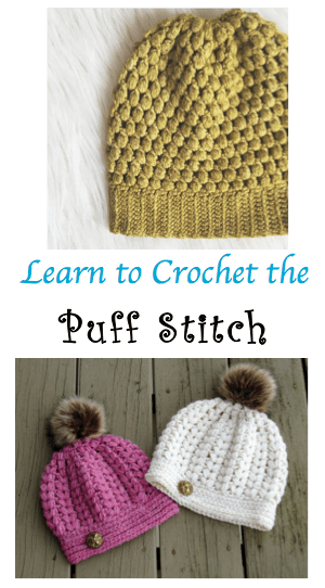 Learn to crochet the puff stitch